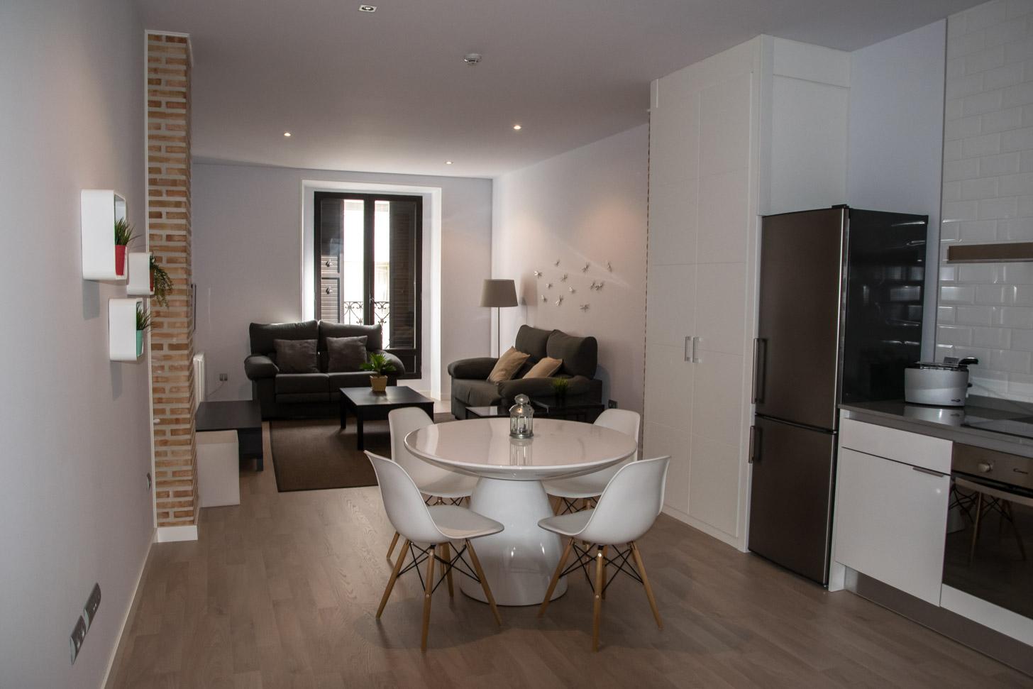 Een gehuurd appartement in Madrid