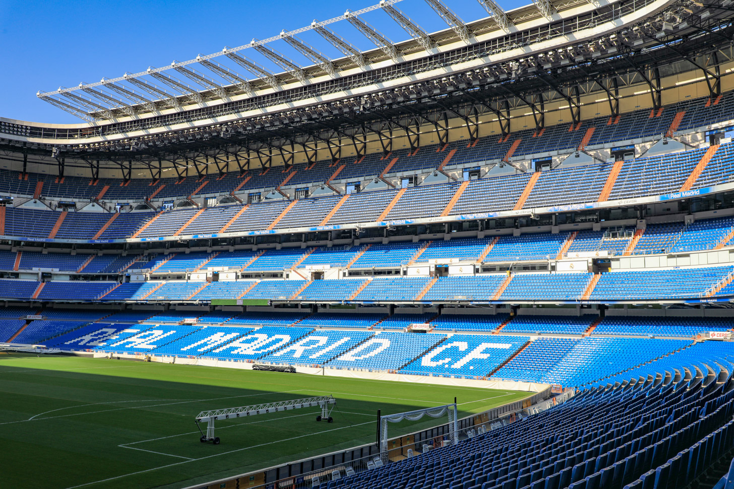 Estadio Santiago Bernabéu: het stadion van Real Madrid