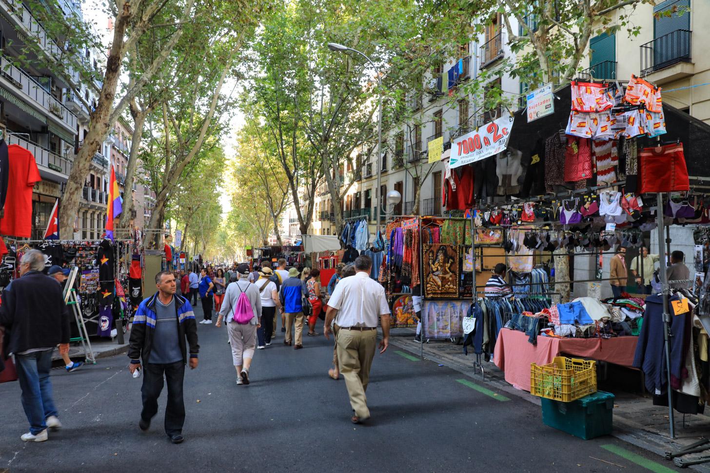 El Rastro de Madrid